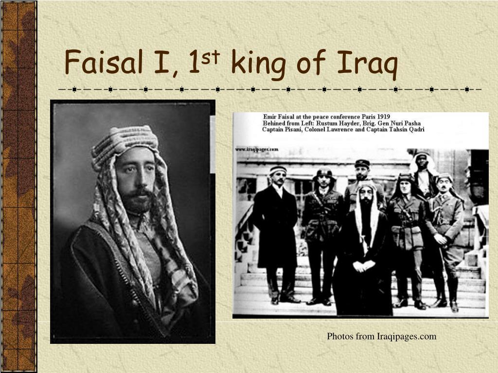 Faisal I, 1