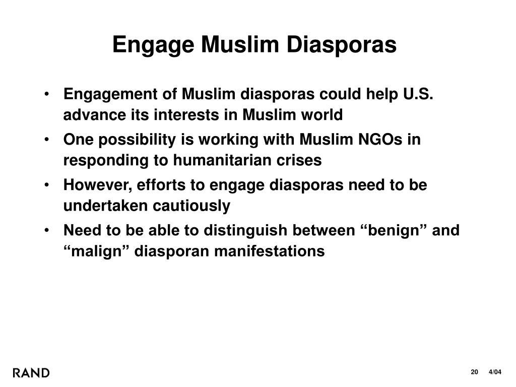 Engage Muslim Diasporas