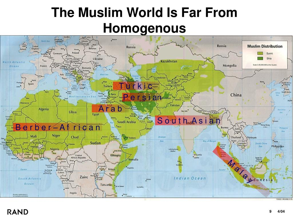 The Muslim World Is Far From Homogenous