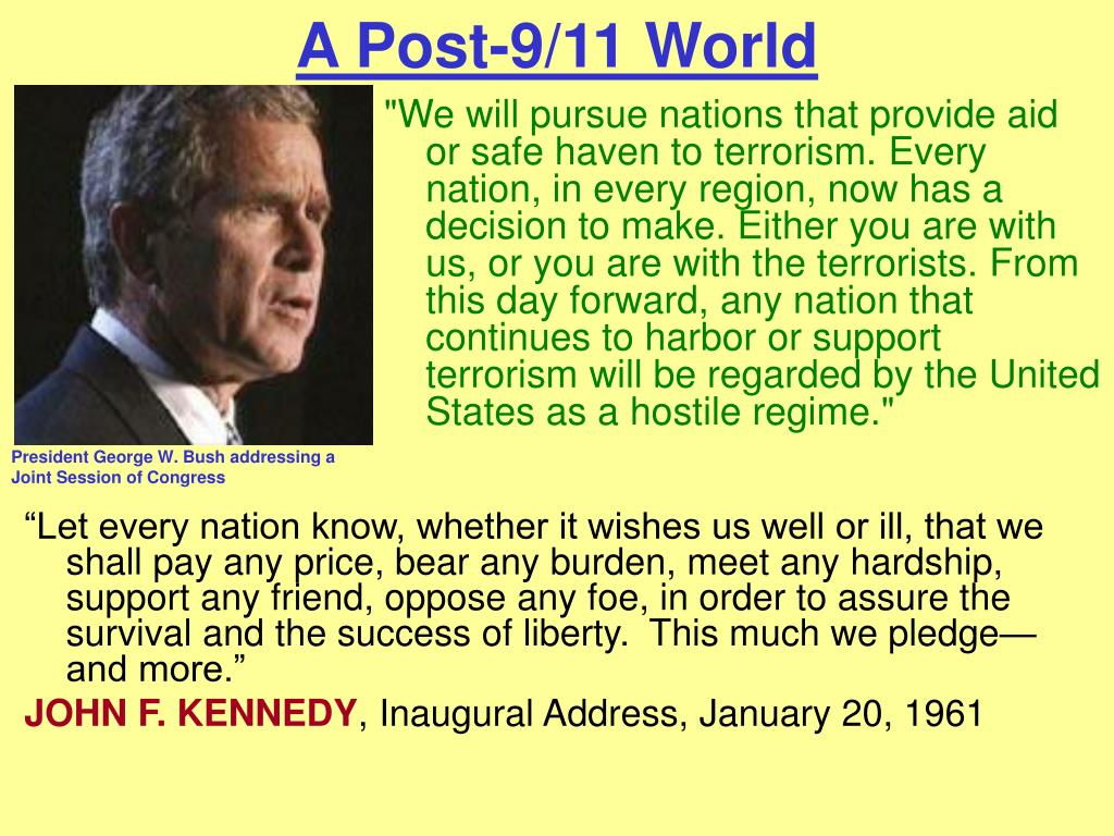 A Post-9/11 World