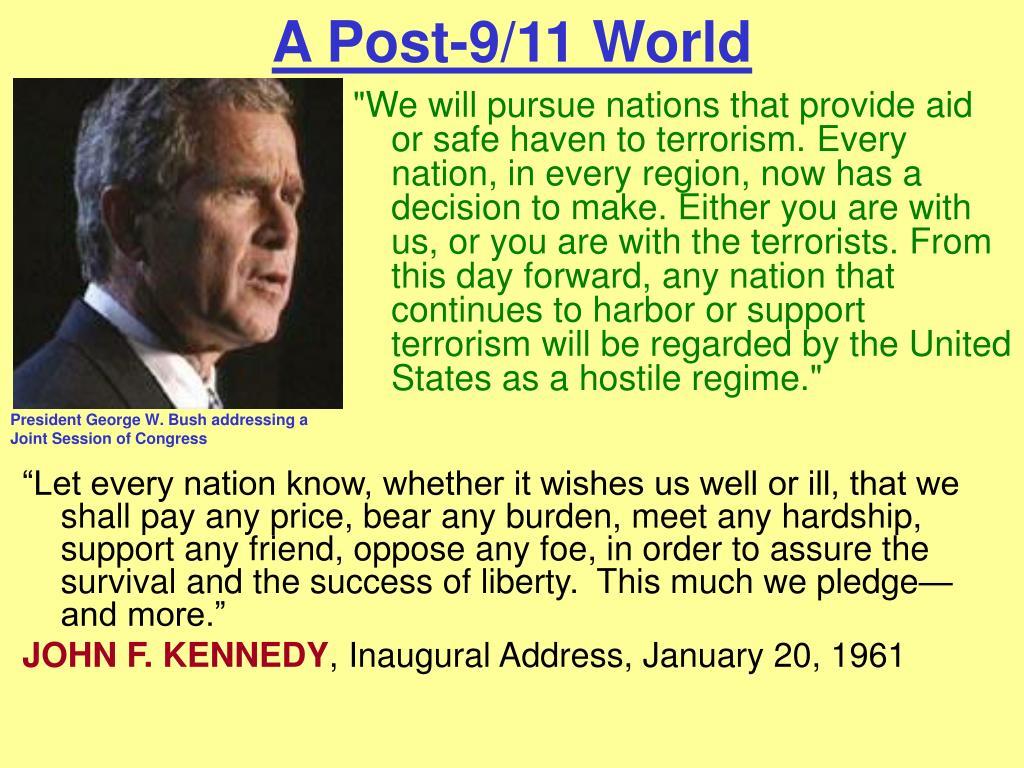 A Post-9/11 World