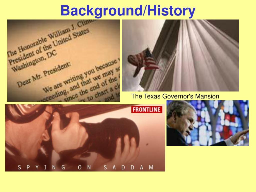 Background/History