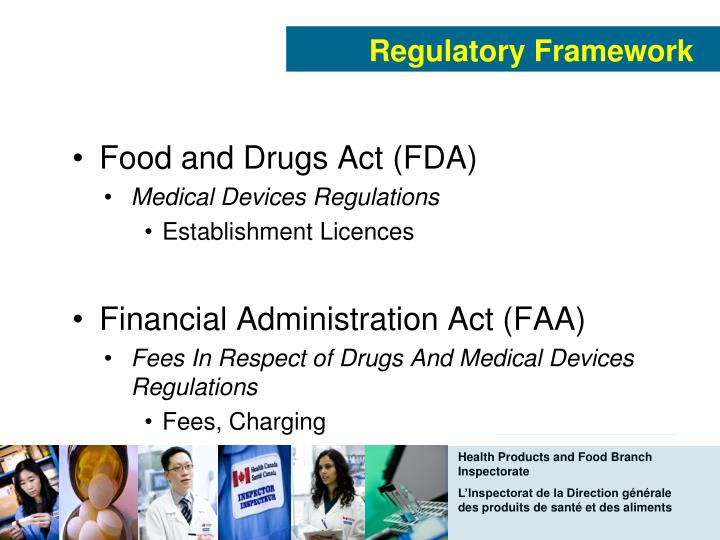 Health Products And Food Branch Mandate