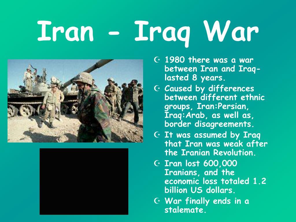 Iran - Iraq War
