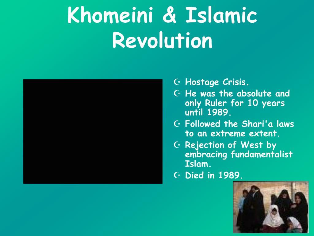 Khomeini & Islamic Revolution