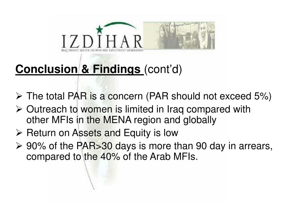 Conclusion & Findings