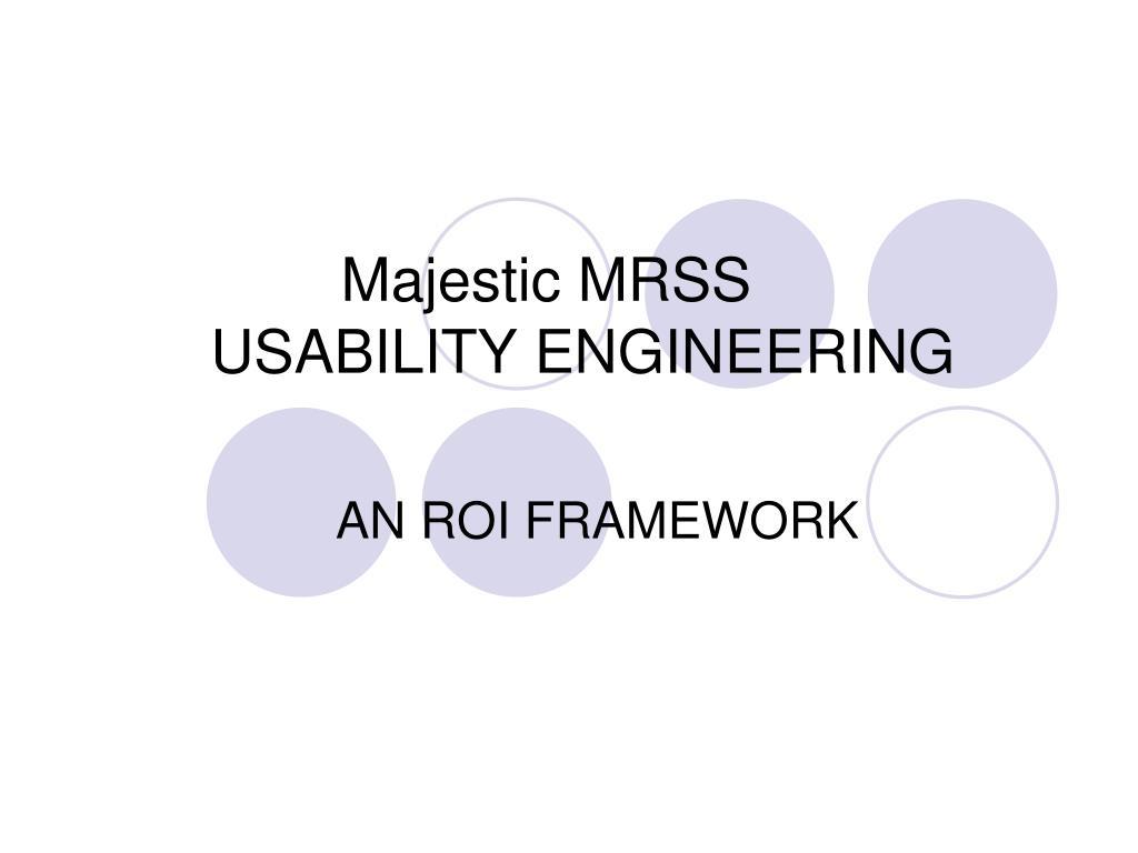 Majestic MRSS