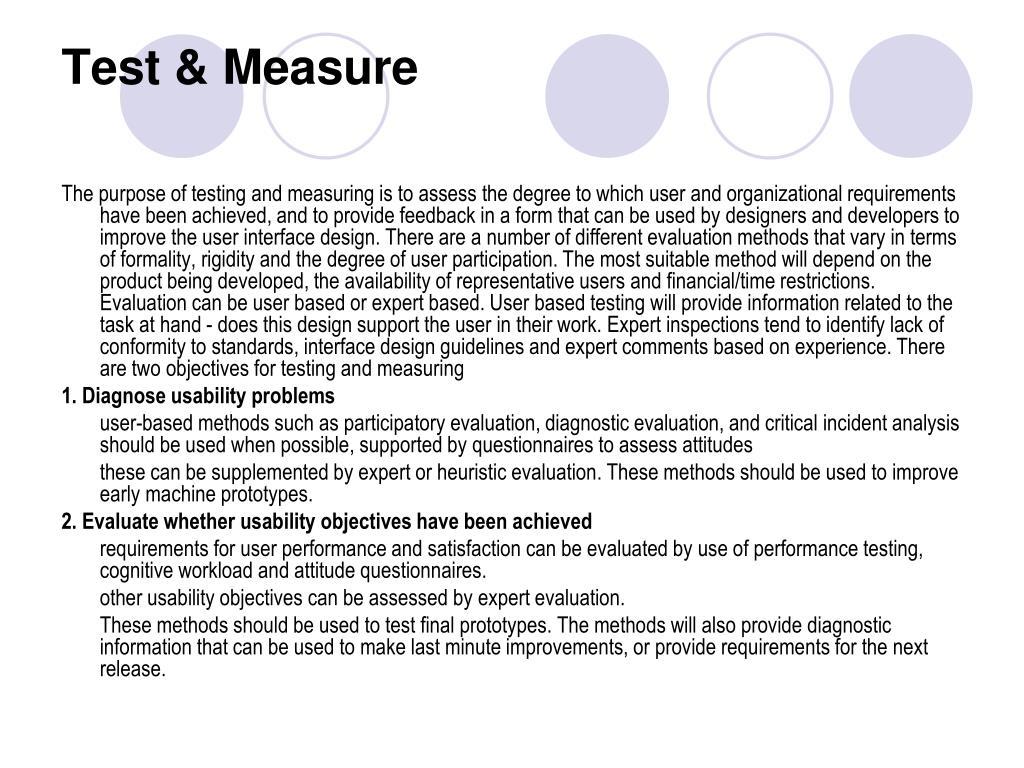 Test & Measure
