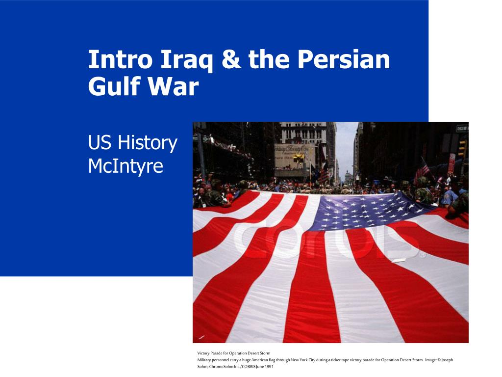 intro iraq the persian gulf war