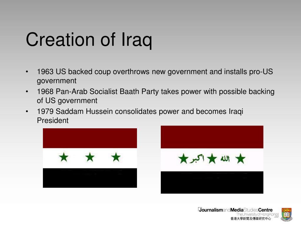 Creation of Iraq