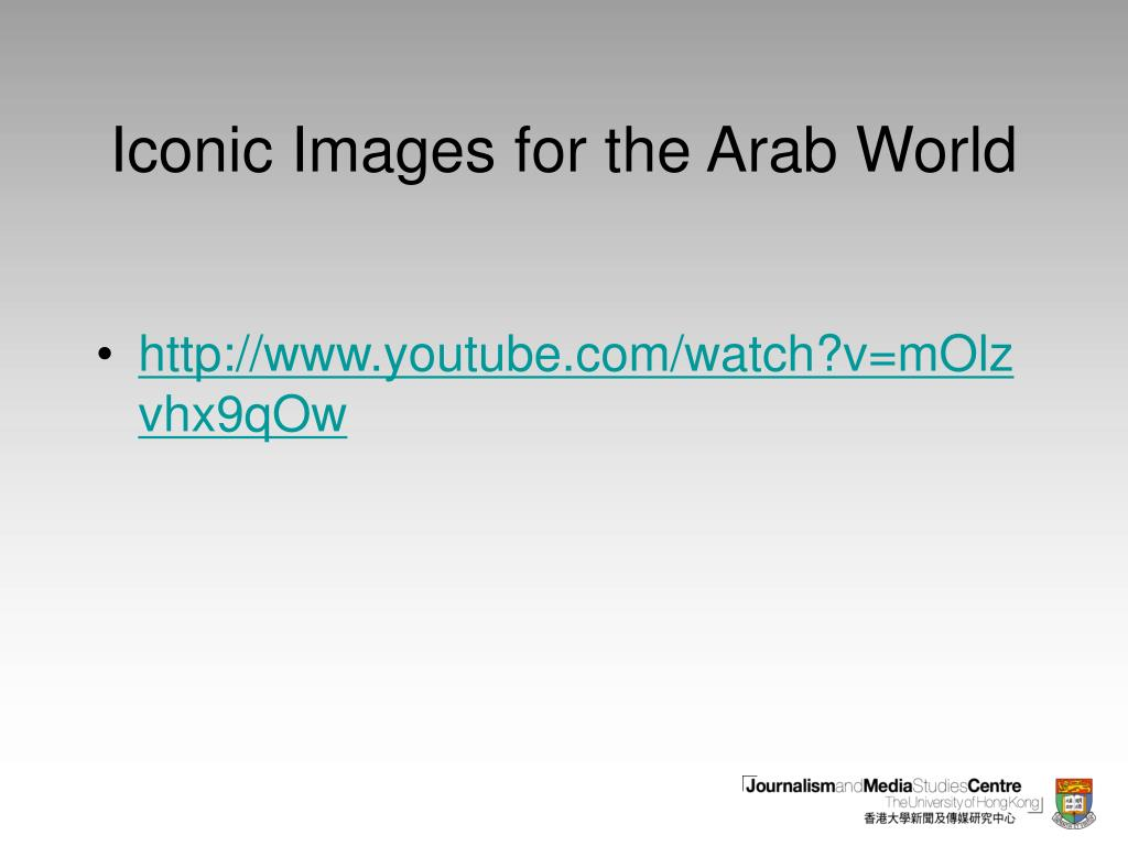 Iconic Images for the Arab World