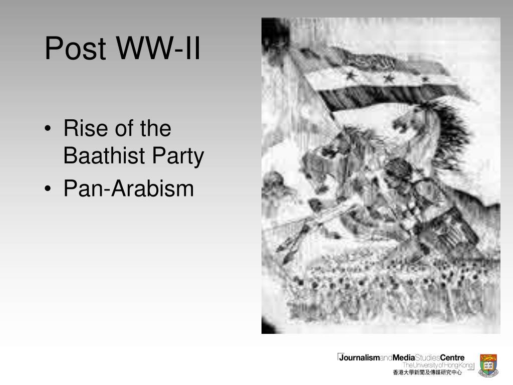 Post WW-II