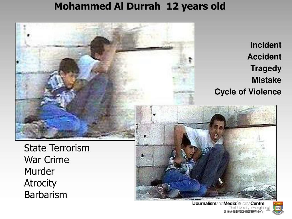 Mohammed Al Durrah  12 years old
