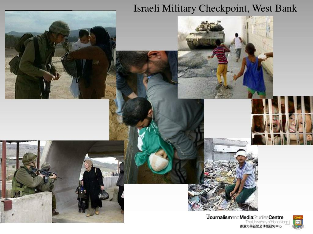 Israeli Military Checkpoint, West Bank