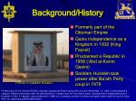 background history