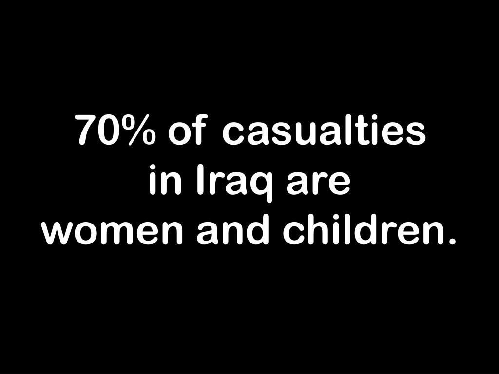 70% of casualties