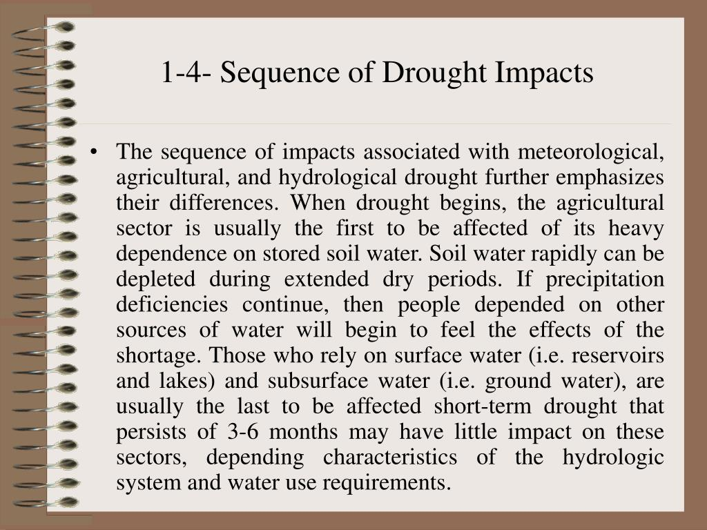 1-4- Sequence of Drought Impacts