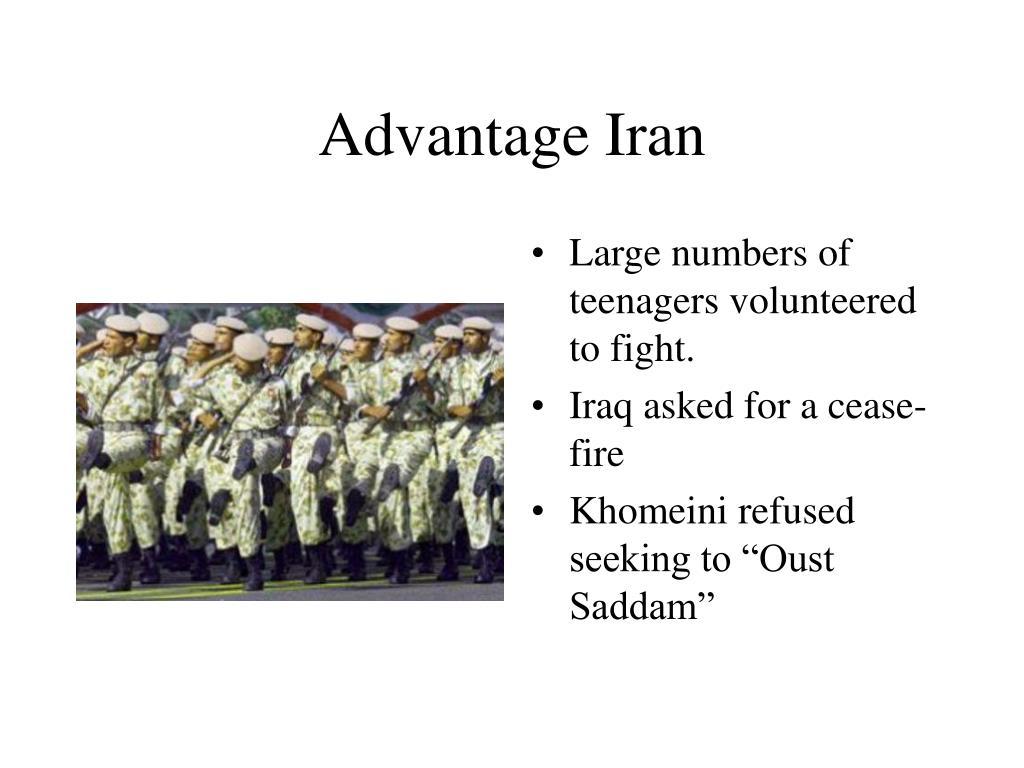 Advantage Iran