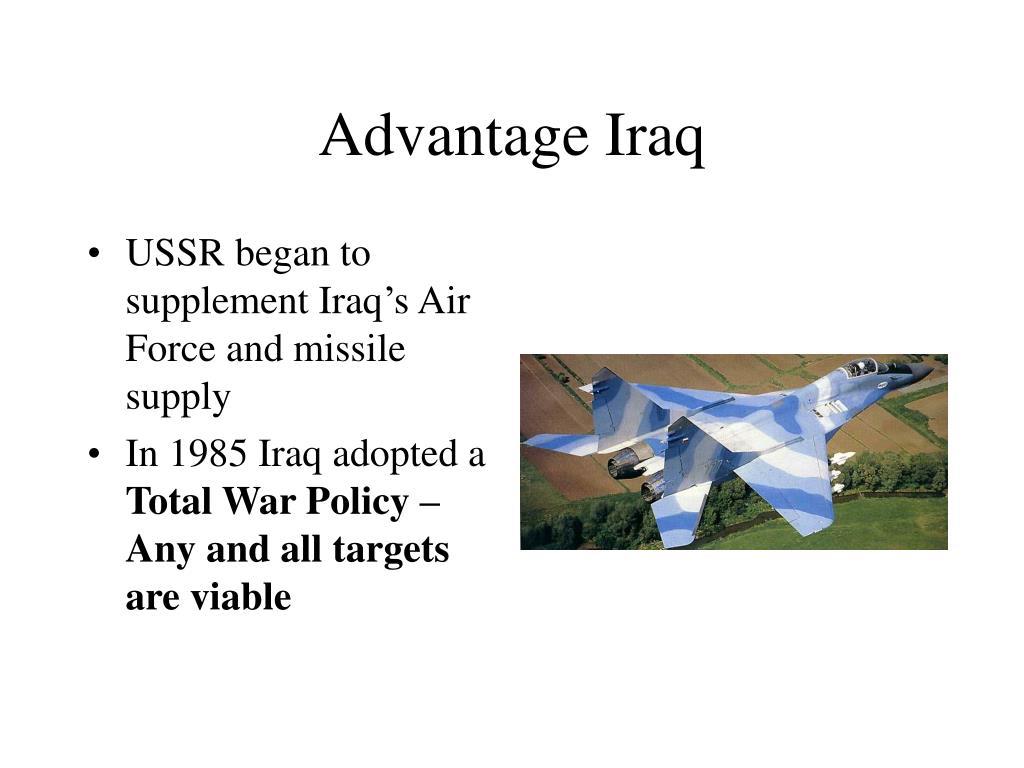 Advantage Iraq