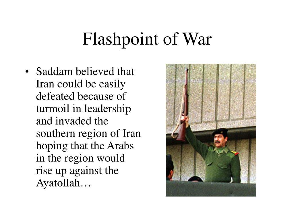 Flashpoint of War