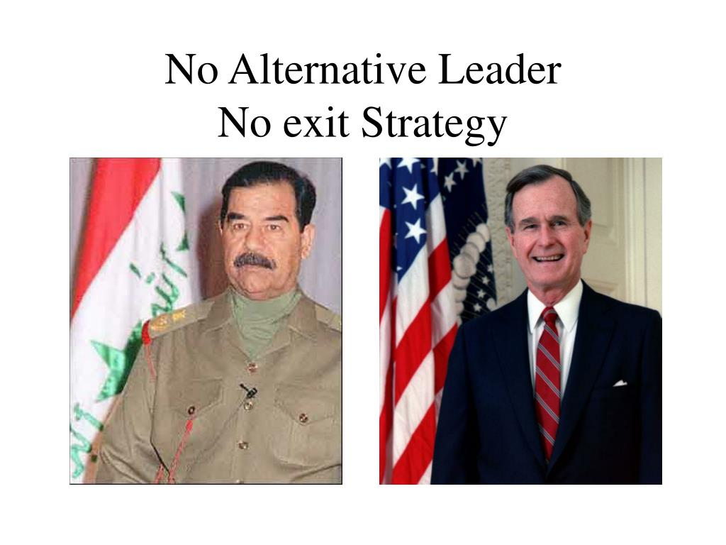 No Alternative Leader