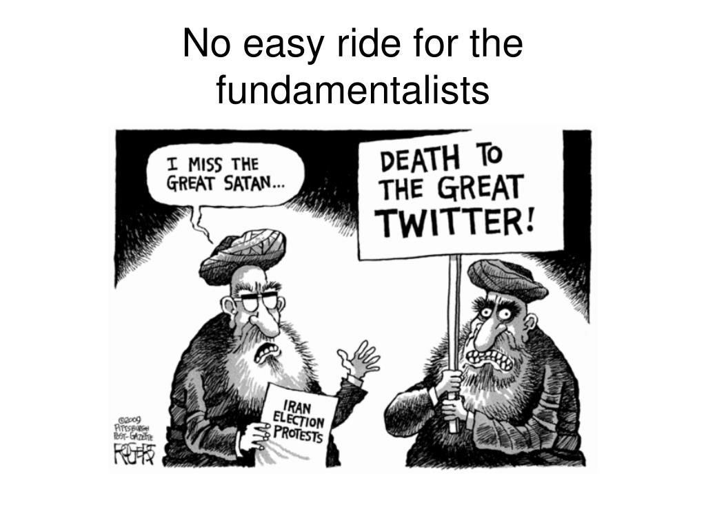 No easy ride for the fundamentalists