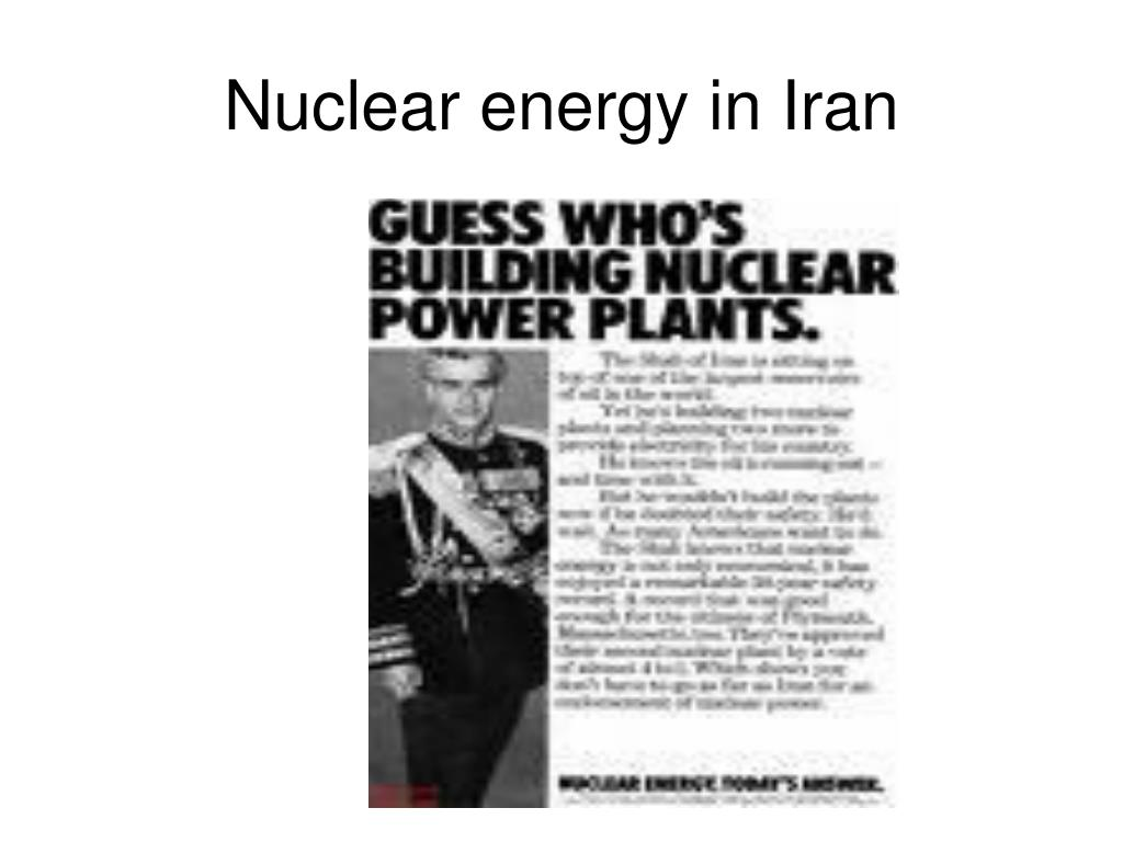 Nuclear energy in Iran