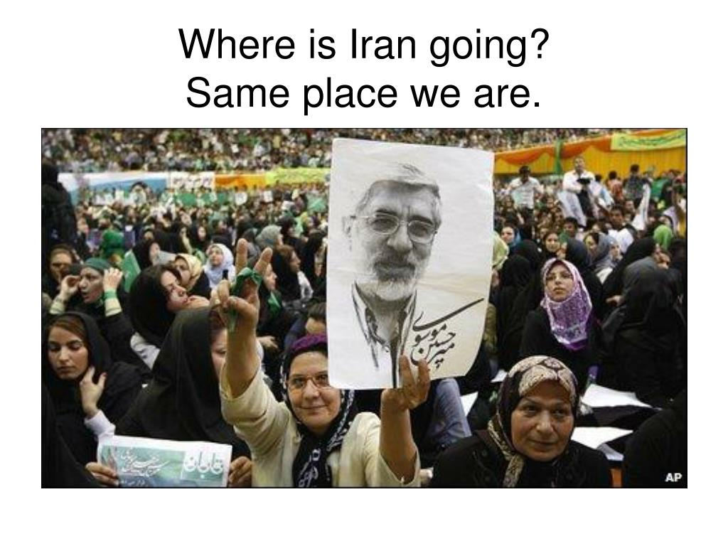Where is Iran going?