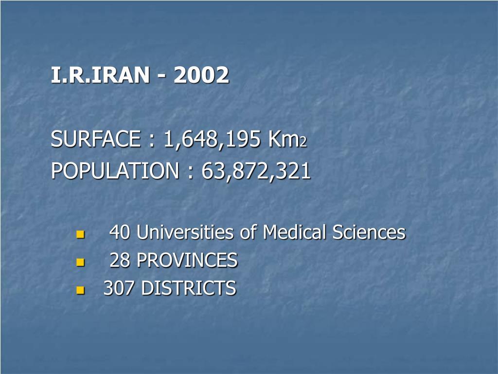 I.R.IRAN - 2002