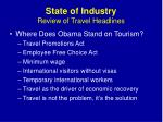 state of industry review of travel headlines3
