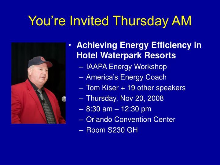 Achieving Energy Efficiency in Hotel Waterpark Resorts