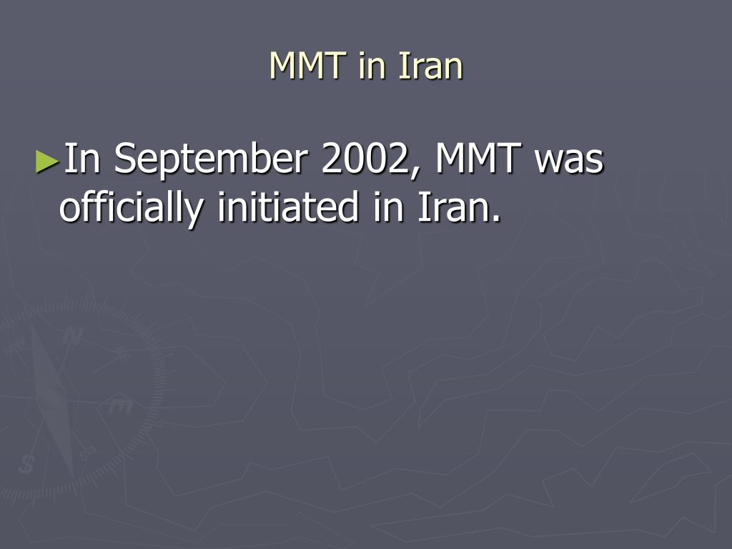 MMT in Iran