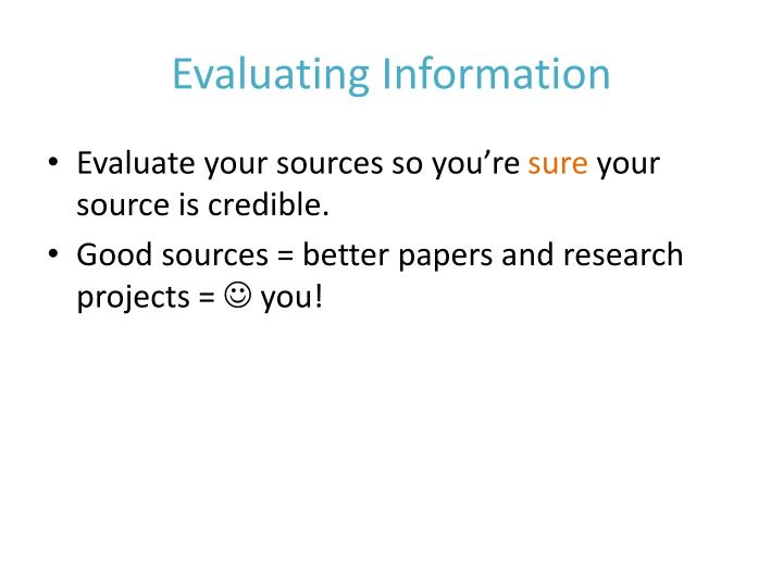 evaluating research paper styles