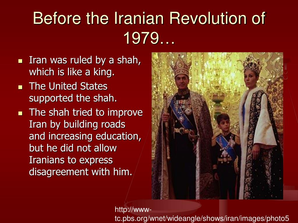 Before the Iranian Revolution of 1979…
