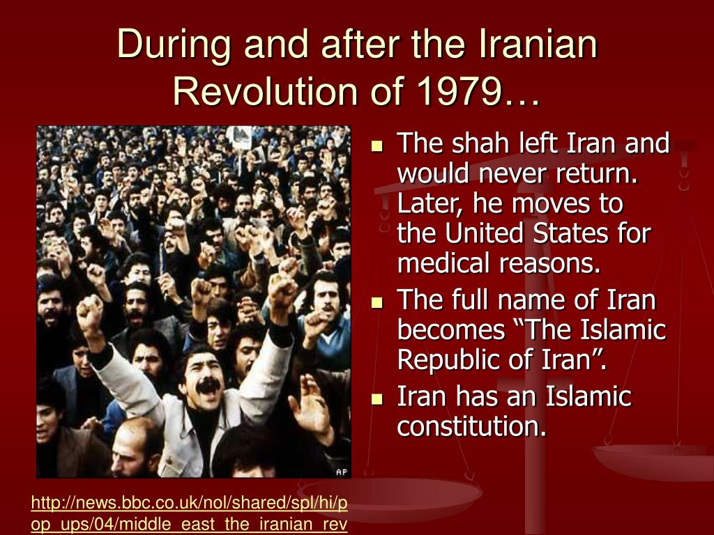 During and after the Iranian Revolution of 1979…