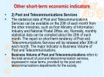 other short term economic indicators3
