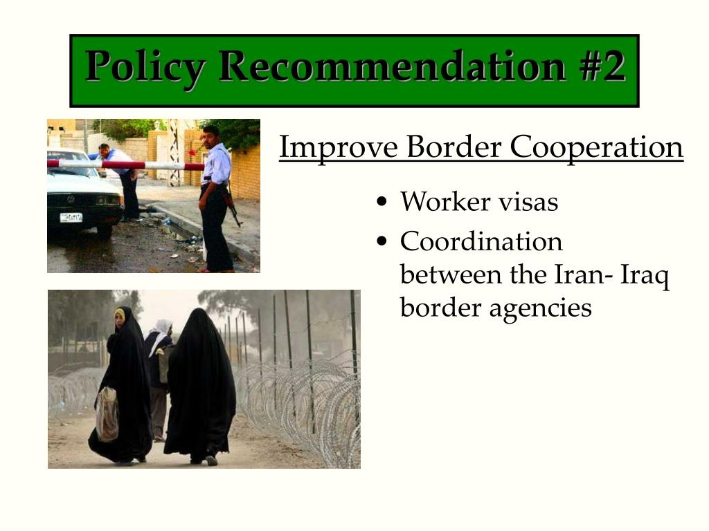 Policy Recommendation #2