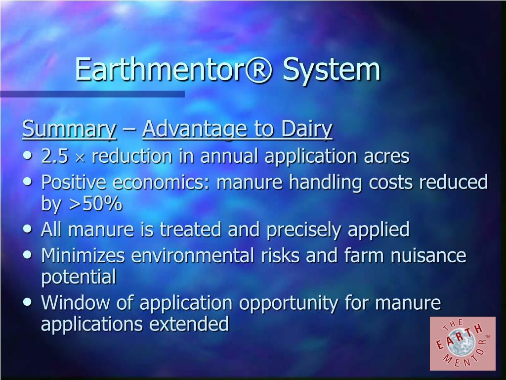 Earthmentor® System