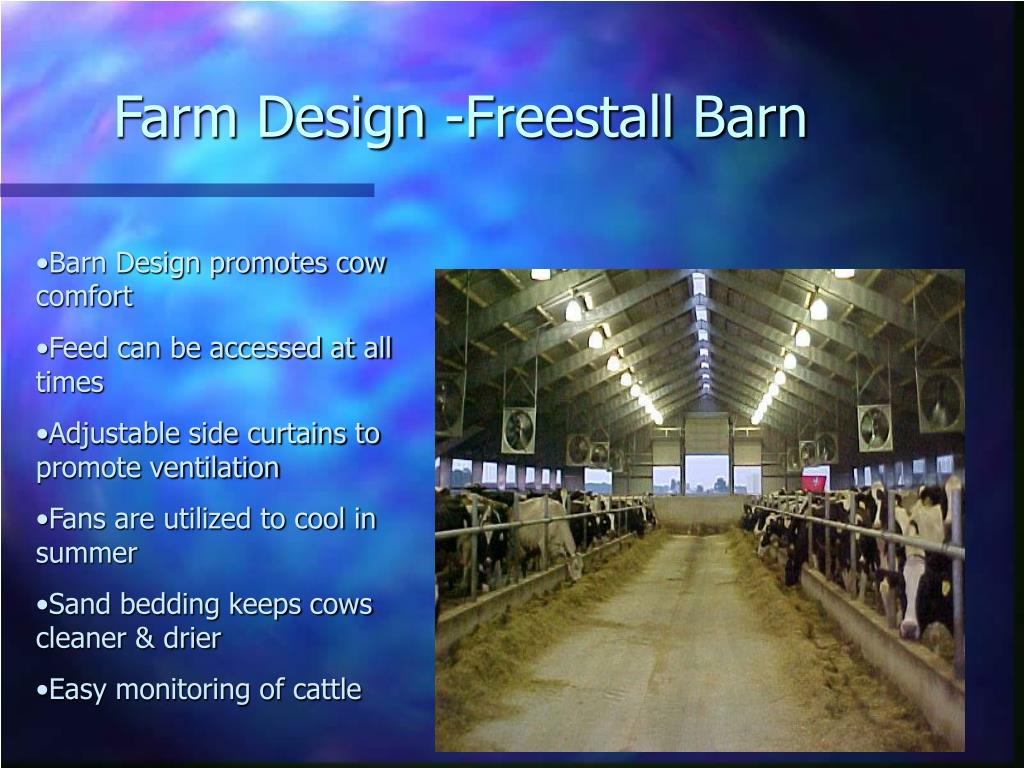 Farm Design -Freestall Barn