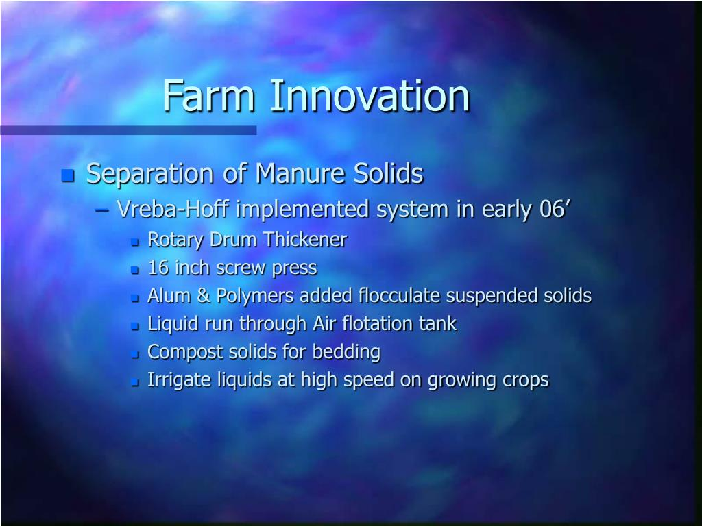 Farm Innovation