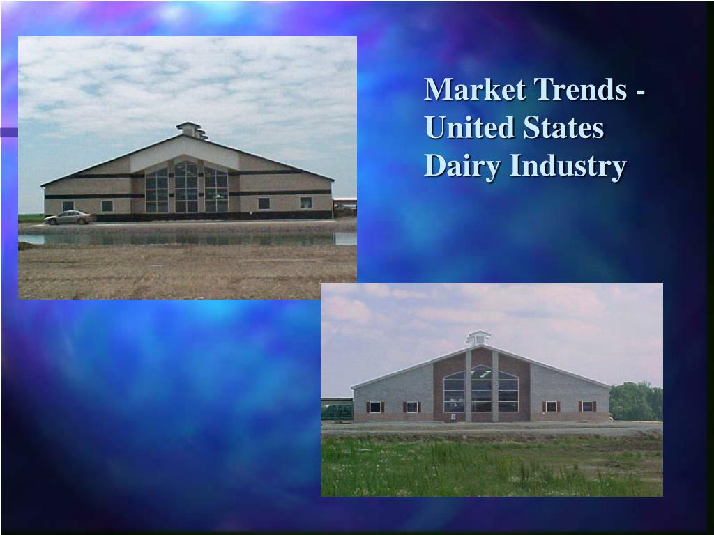 Market Trends -United States Dairy Industry