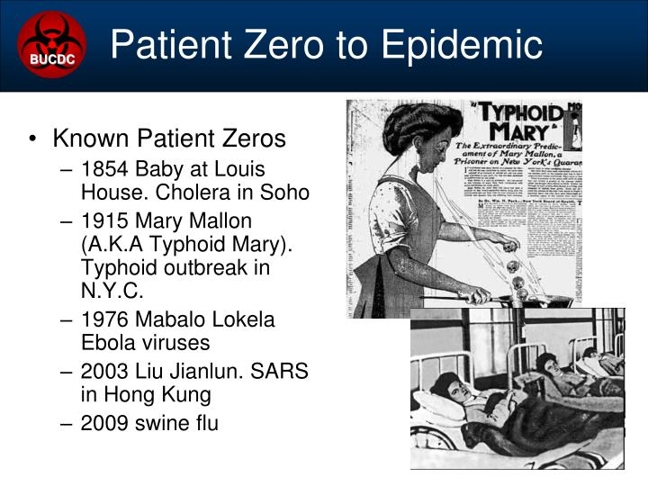 Patient Zero to Epidemic