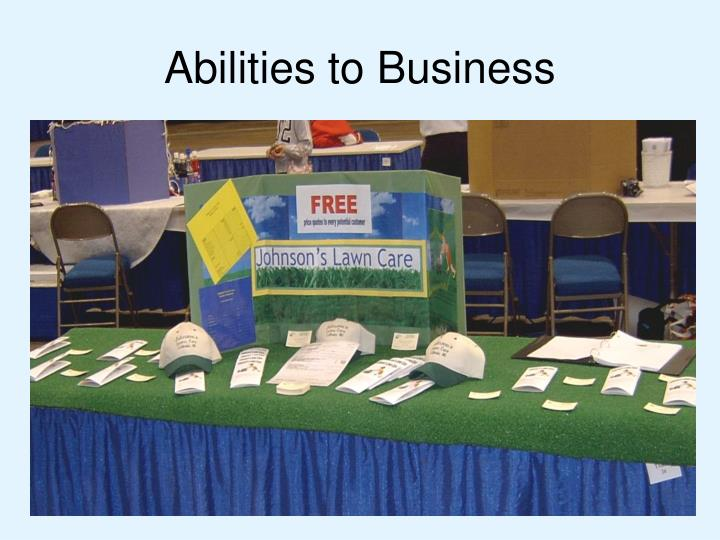 Abilities to Business