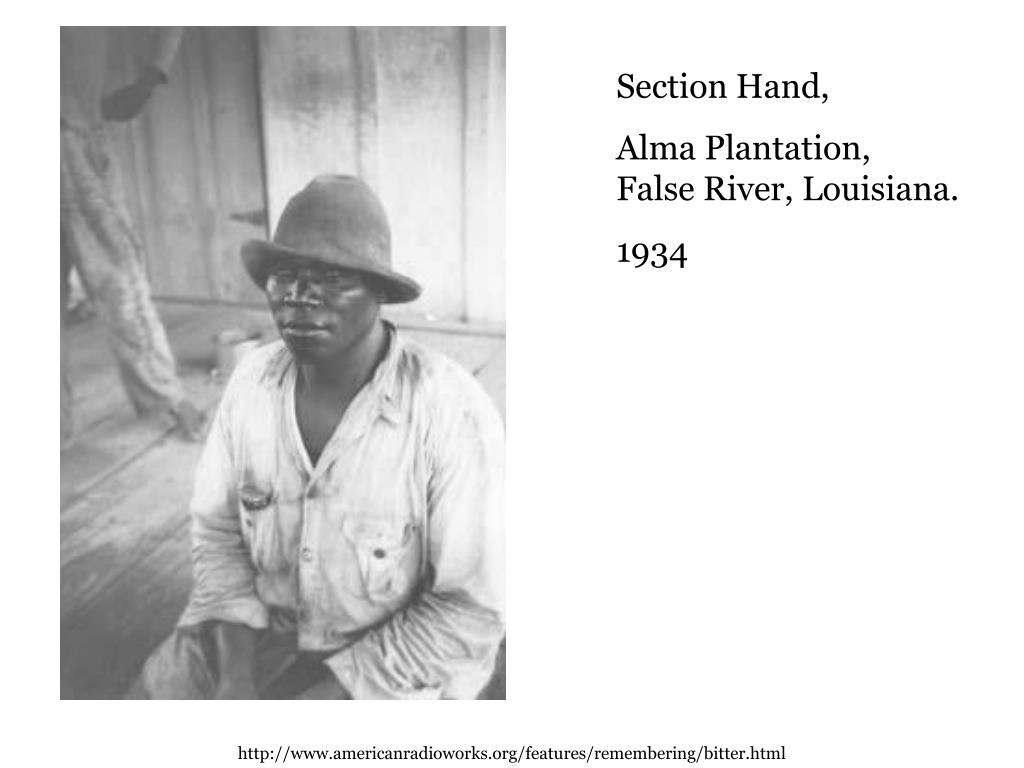 Section Hand,