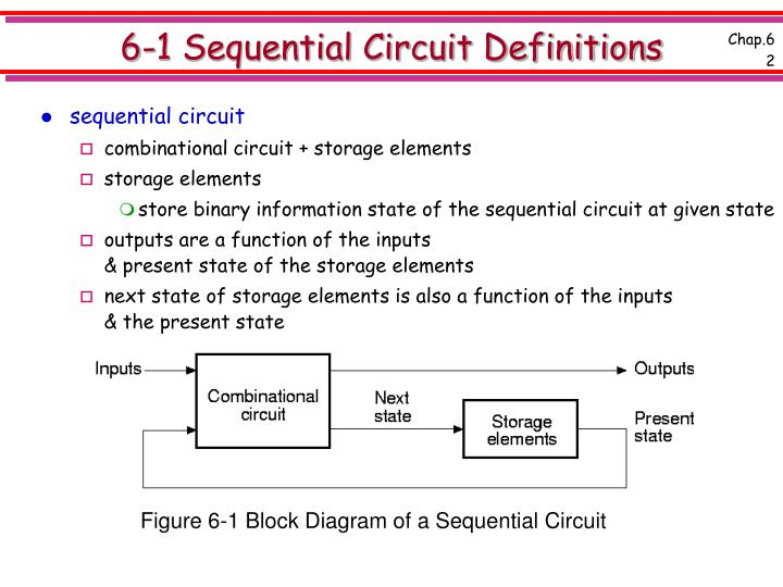 6 1 sequential circuit definitions