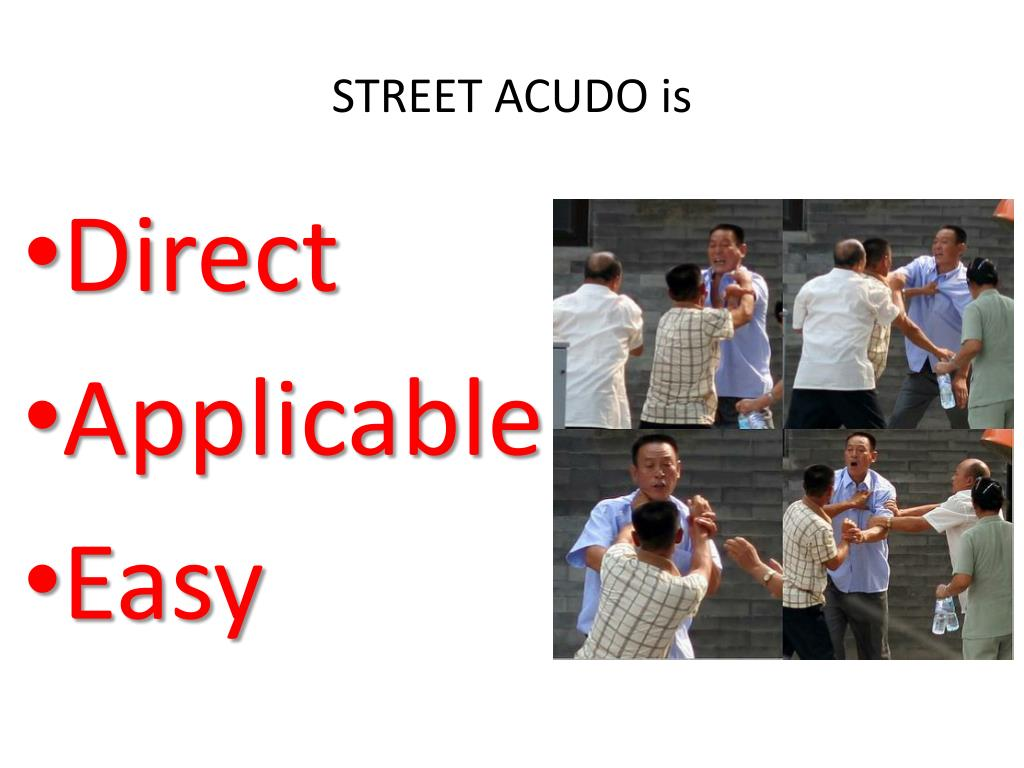 STREET ACUDO is
