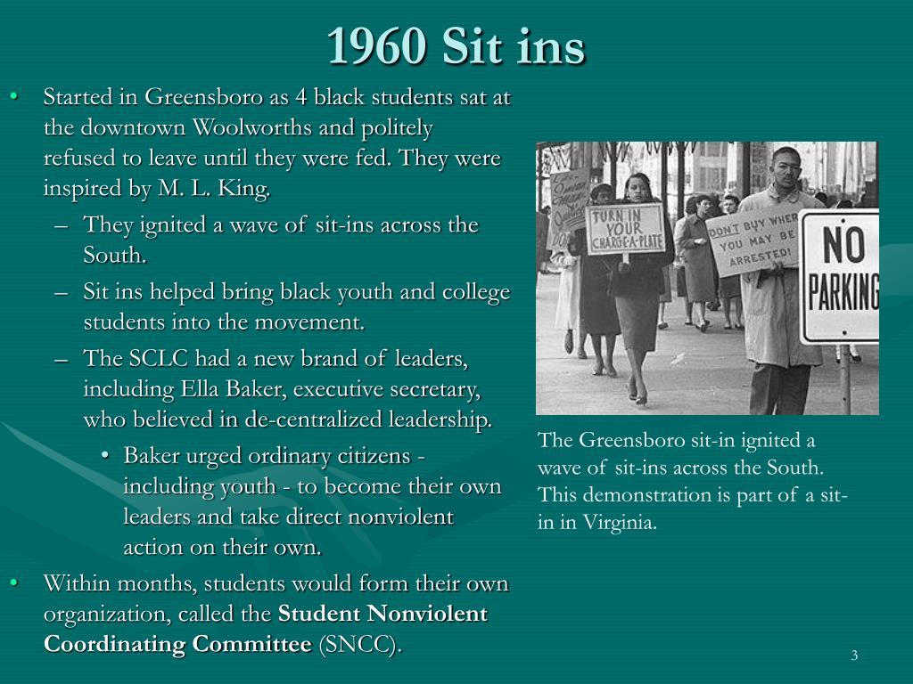 1960 Sit ins