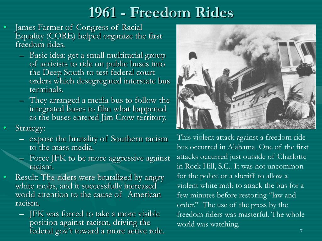 1961 - Freedom Rides