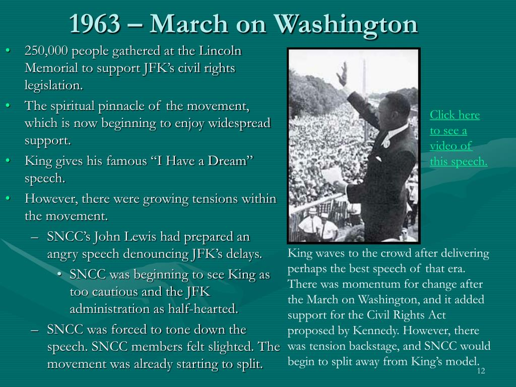 1963 – March on Washington