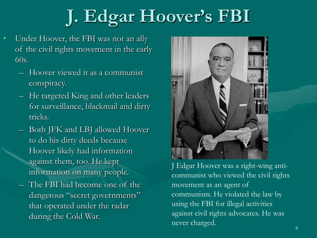J. Edgar Hoover's FBI